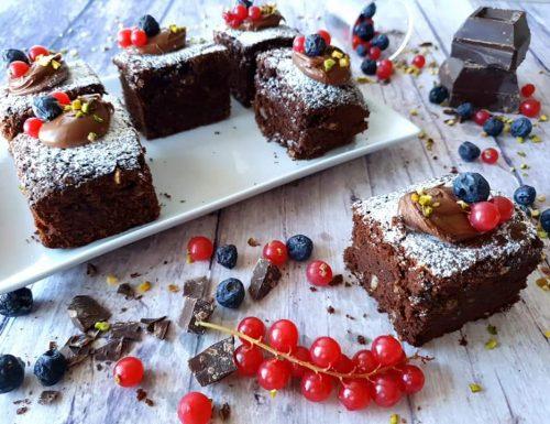 Brownies con ricetta americana