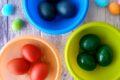 Uova sode colorate (ricetta pasquale)