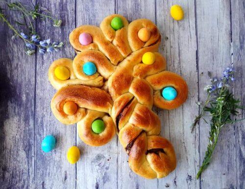 Albero della Pasqua pan brioche