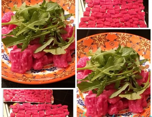 Gnocchi rosa senza glutine