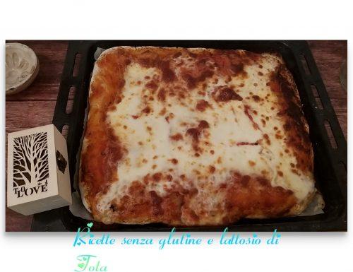 Pasta per pizza con grano saraceno