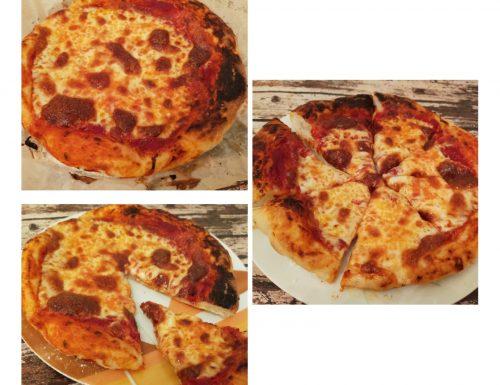 """Pizza """"deliziosa"""" senza glutine"""