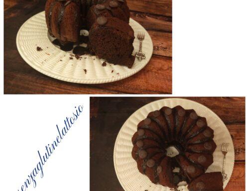 Torta con pinoli e ovetti di cioccolato