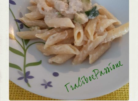 •Penne Zucchine, Tonno e Panna•