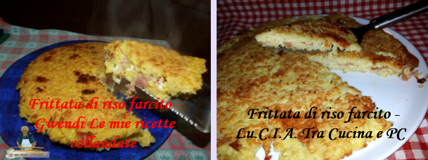 frittata di riso Collage
