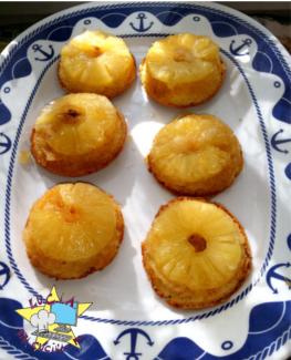 Muffin/tortine upside-down alla frutta