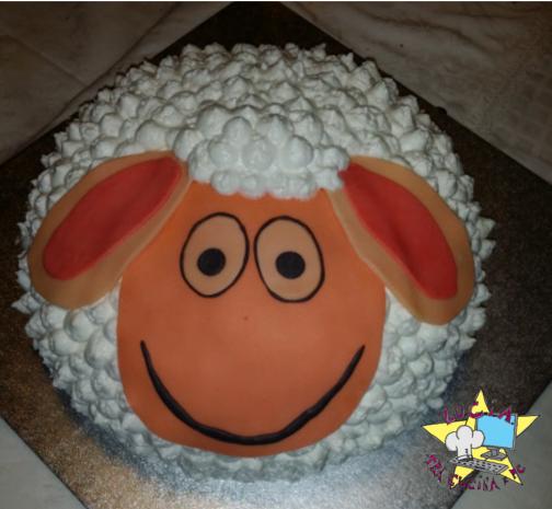 Pecorella Pasquale - cake design panna e pdz
