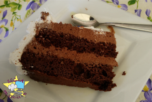 Torta ciocco-pannosa - torta di compleanno