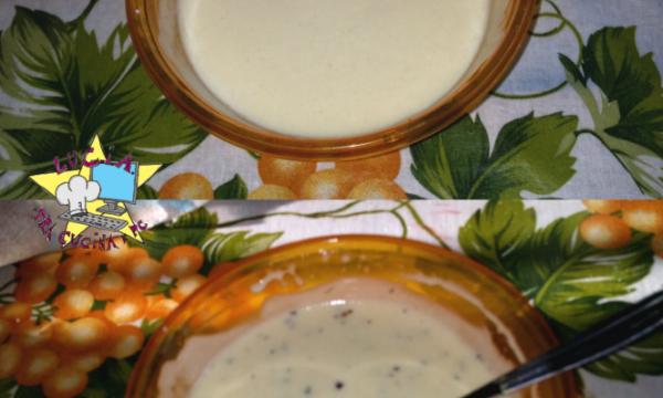 Condimento allo yogurt – Ricetta Light