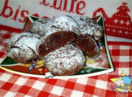 Ciocchi innevati – biscotti di Natale