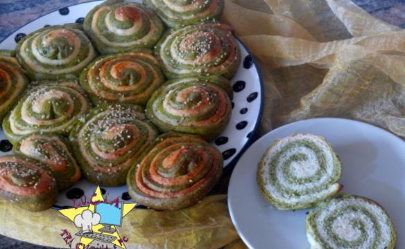 Albero di pan brioche bicolor – Ricetta Natalizia