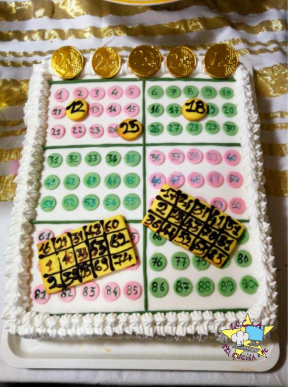 Tombola Cake