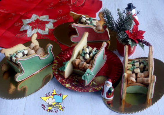 Slitta Di Babbo Natale Fai Da Te.Slitta Di Babbo Natale Lu C I A Tra Cucina E Pc Slitta Di Babbo