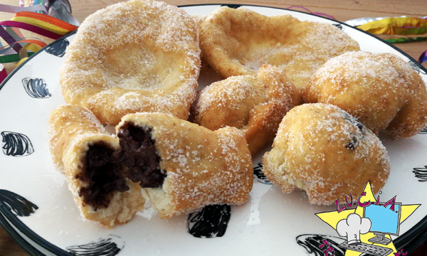 Frittelle ripiene – ricetta di Carnevale