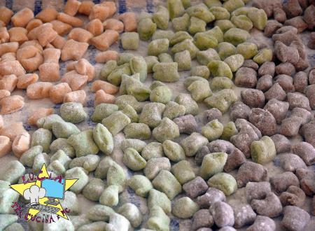 Gnocchetti colorati