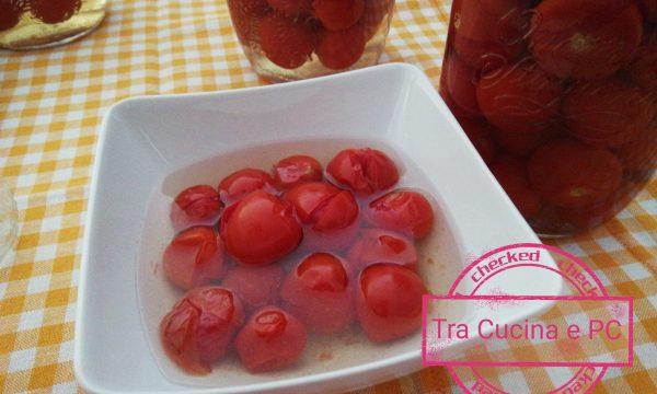 Conservare i pomodorini ciliegino