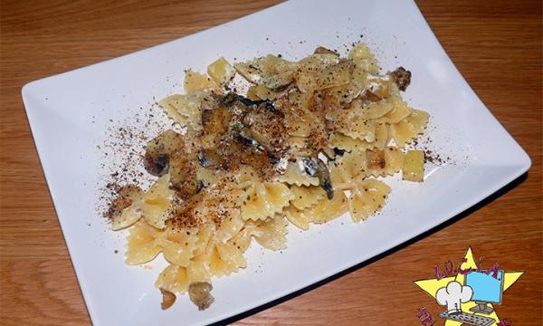 Pasta melanzane e patate