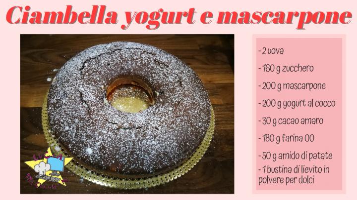 Ciambella Yogurt e Mascarpone