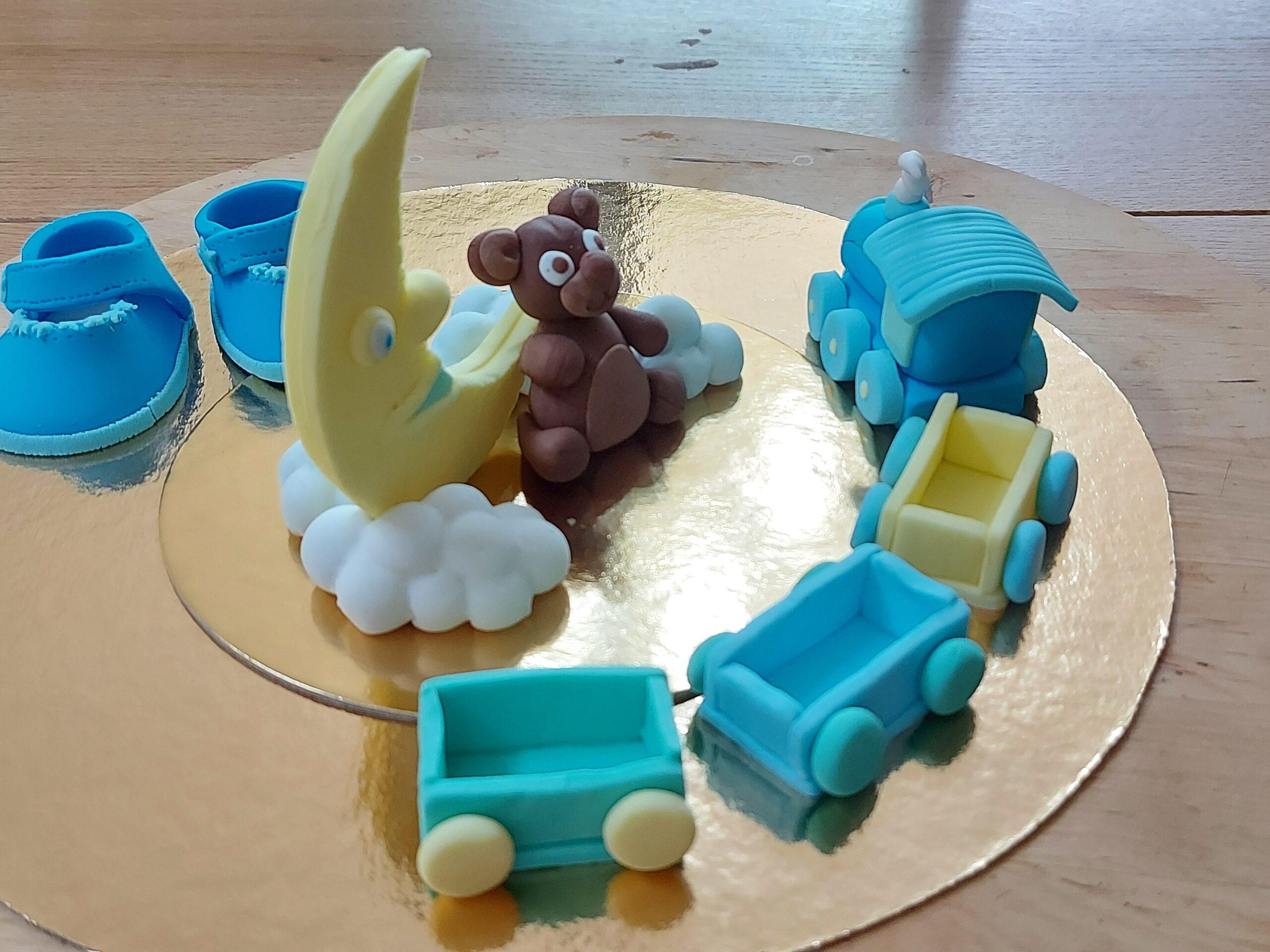 Topper torta battesimo