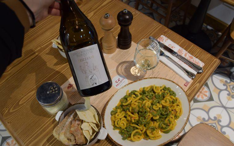 L'abbinamento cibo-vino, focus n.1: la pasta