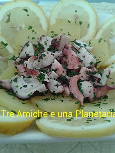 insalata di polipo con patate