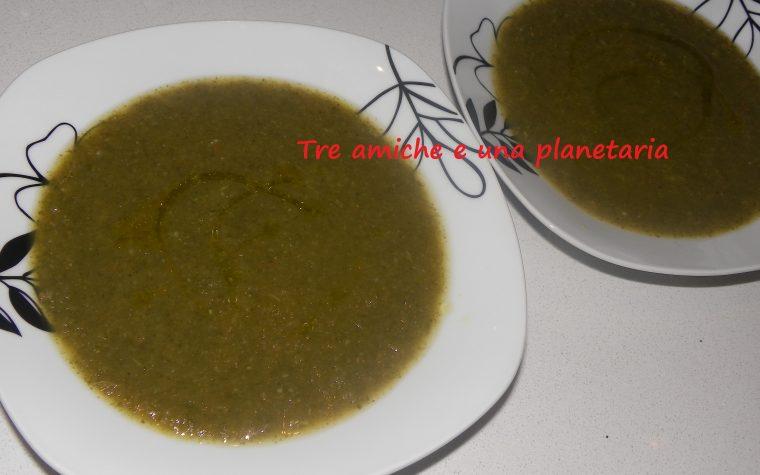 Minestrone di verdure superleggero