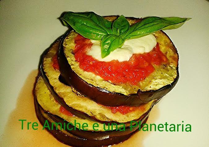 Lasagnetta di melanzane