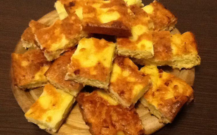 Frittata di patate,cipolla e speck