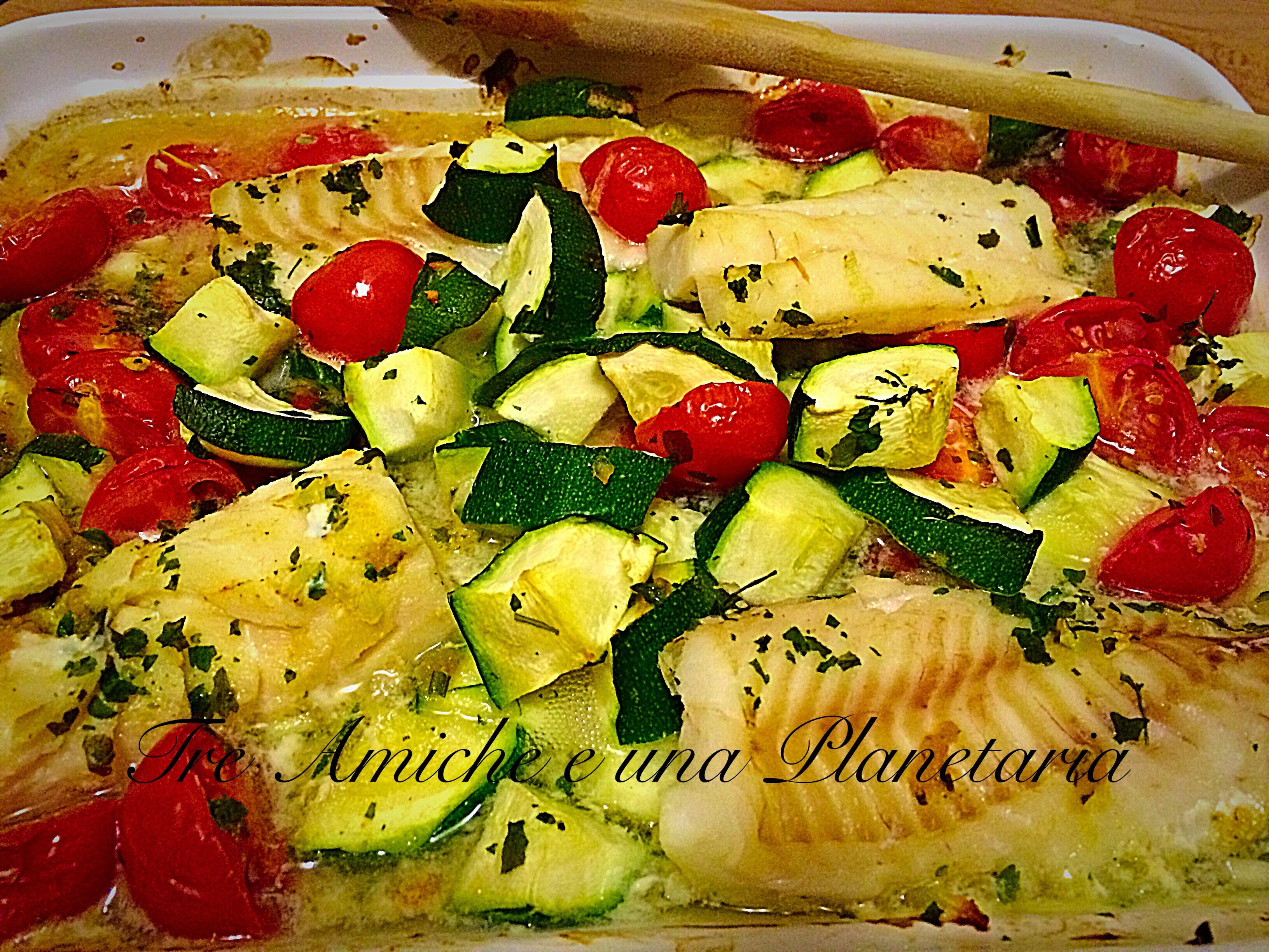 ricette filetti di merluzzo con verdure - le ricette di ... - Cucinare Filetto Di Merluzzo