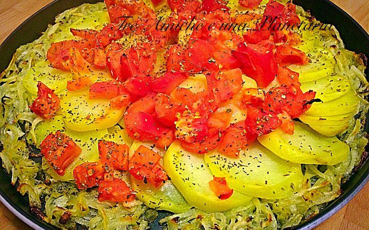 Cipolla e patate in teglia