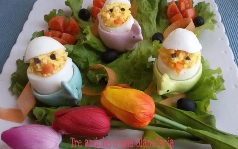 Pulcini d'uovo