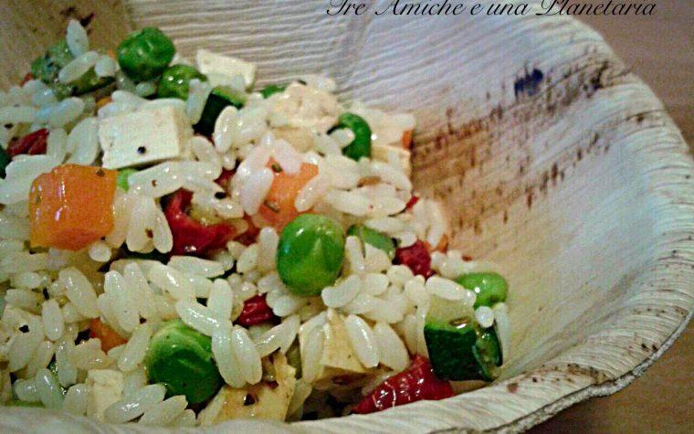 Insalata di riso light -ricetta Vegan-