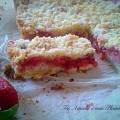 Strawberry bars - barrette crumble alle fragole