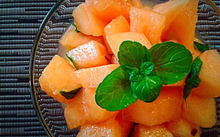Insalata di melone ricetta del Marocco