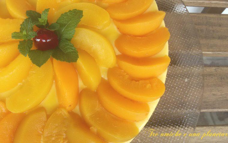 Creamy cake alle pesche