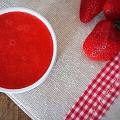 Salsa di fragole, La coulis