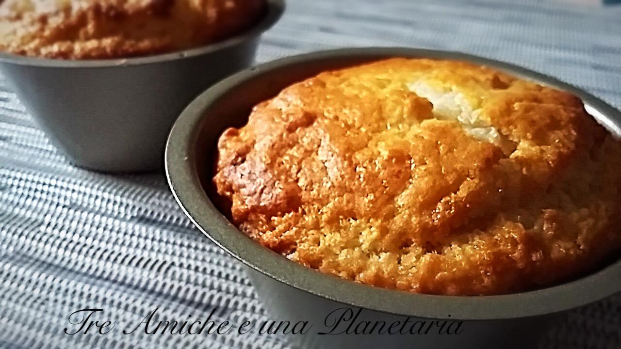 Muffin Ciocco-cocco Senza Uova e Burro