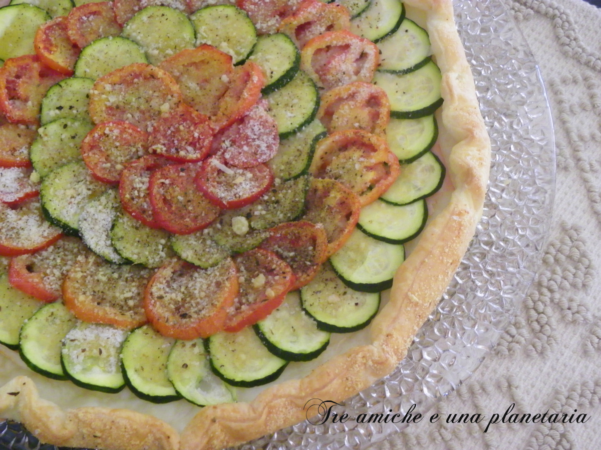 torta salata verdure
