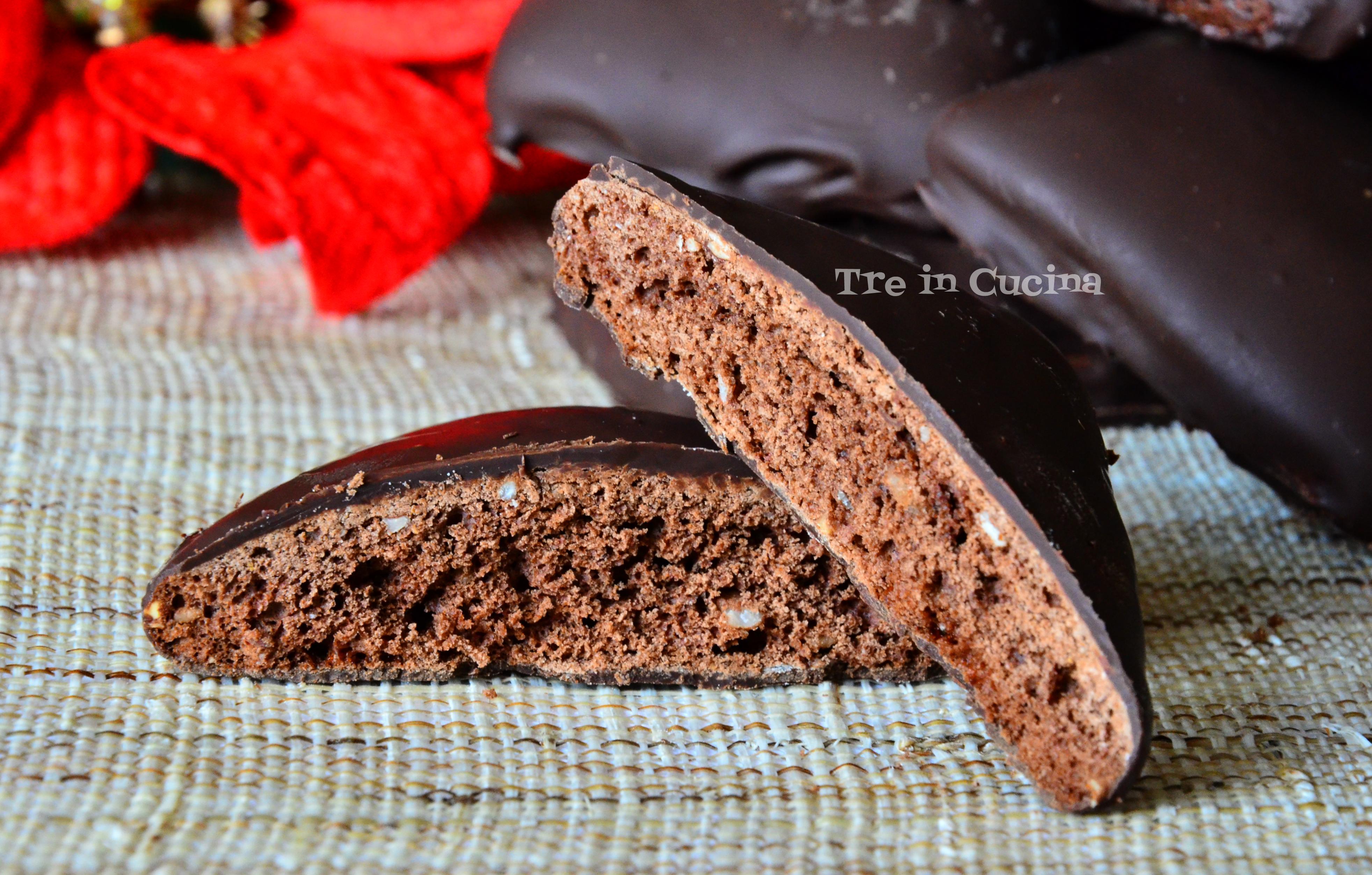 Dolci Natalizi Al Cioccolato.Mostaccioli Napoletani Al Cioccolato Ricetta Dolci Natalizi