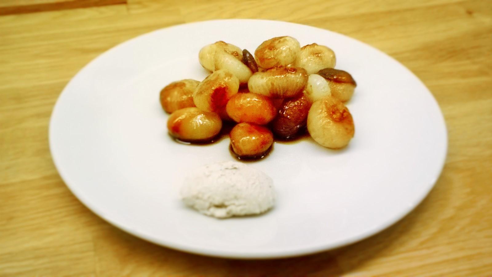 Cipolline all'aceto balsamico