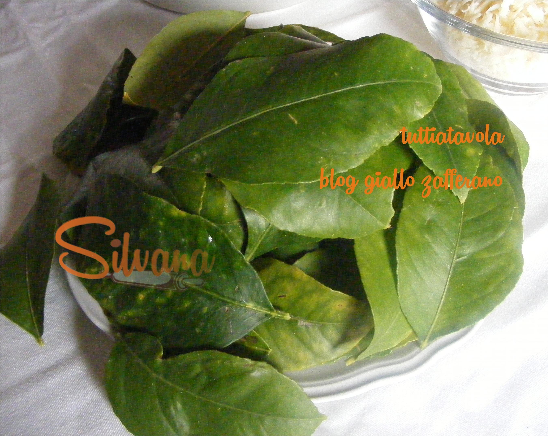 Polpette nelle foglie di limone - Foglie limone nere ...