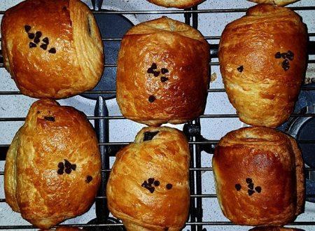 Pan Au Chocolat – Saccottini sfogliati