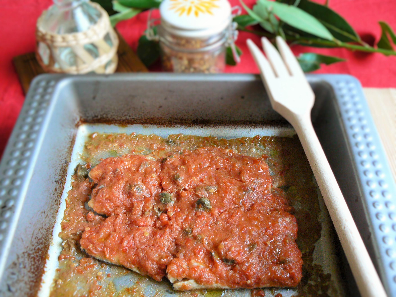 Gallinella con salsa di capperi