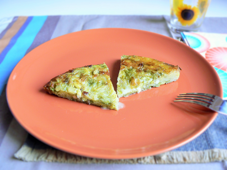 Taroz (sformato di verdure e formaggio)