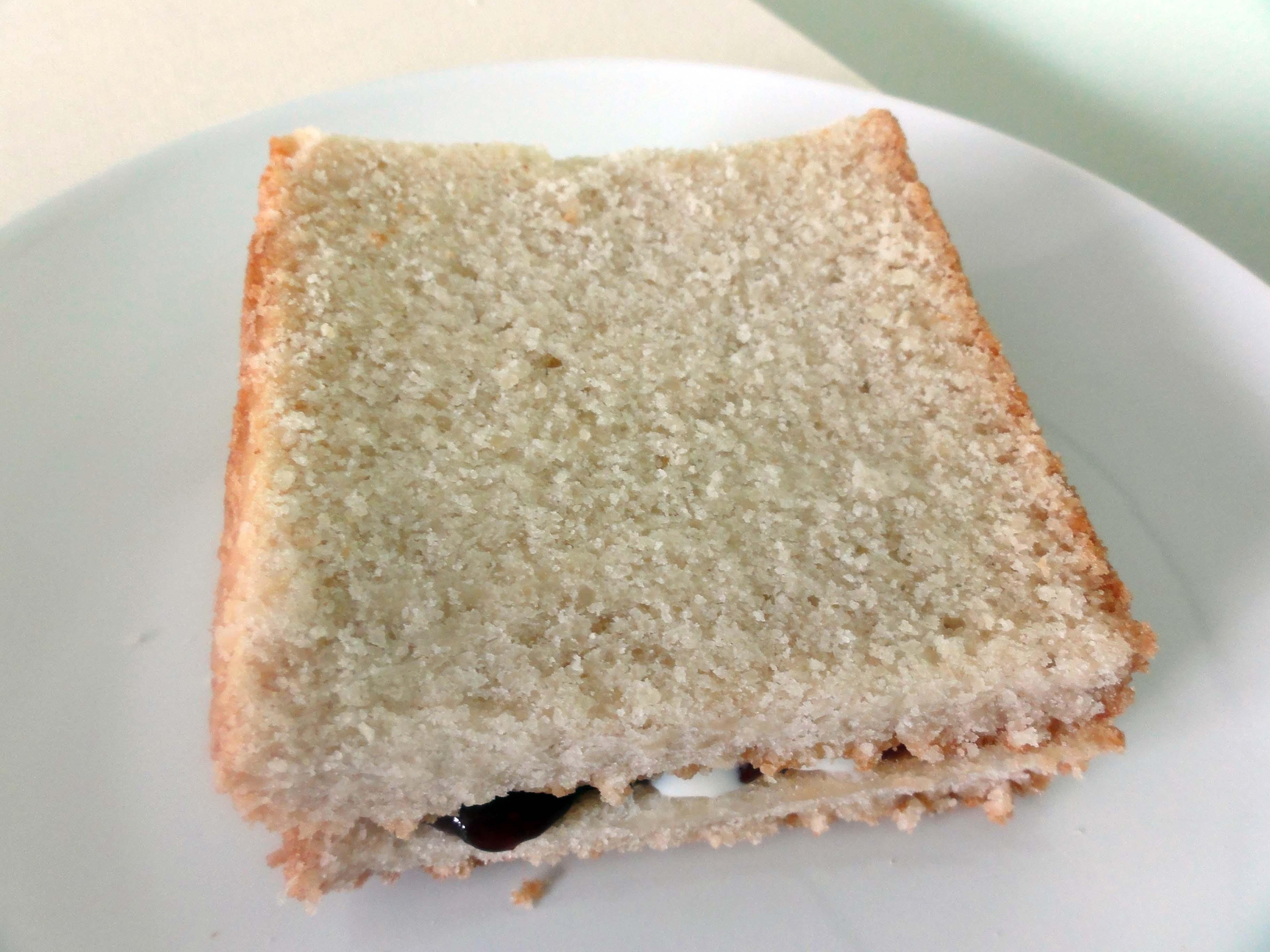 Toast di Pan di Spagna: senza glutine, vegano