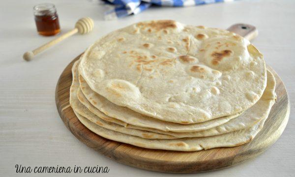 Piadina romagnola – ricetta con miele