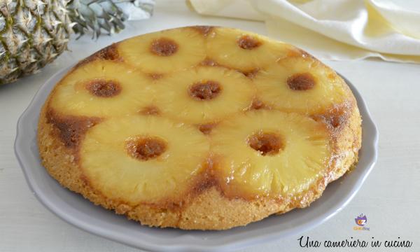 Torta all'ananas rovesciata – ricetta di mamma