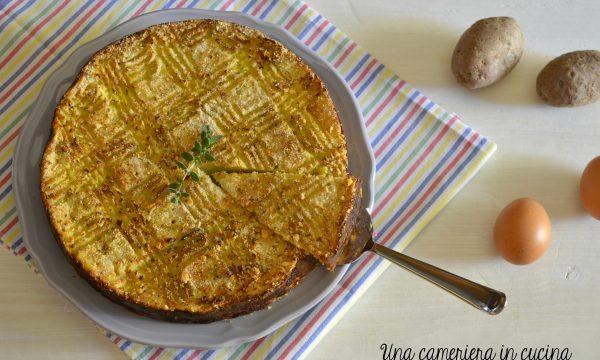 Torta di patate e cipolle – facile e gustosa
