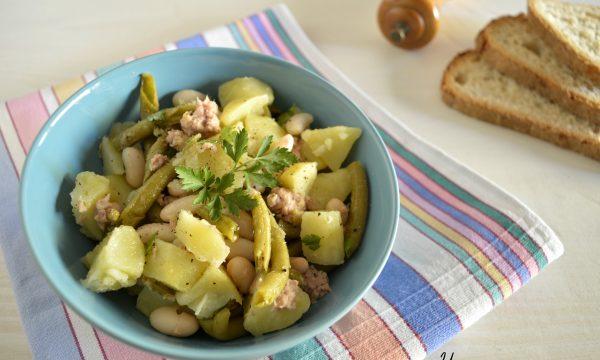 Insalata di tonno fagioli e patate