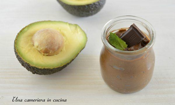 Crema all'avocado e cacao
